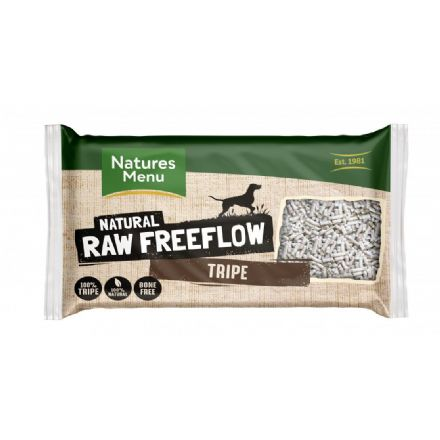 Natures Menu Dog Raw Frozen Free Flow Tripe 2kg